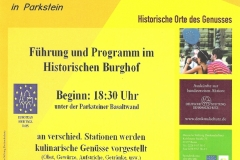 2009-09-13 Plakat Hist Rundgang