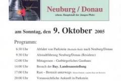 2005-10-09 Neuburg Plakat