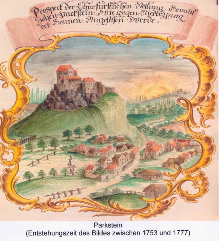 Parkstein um 1735